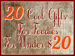 20 Cool Gifts For Foodies For Under $20 – 2014