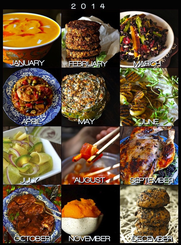 12 Most Popular Recipes of 2014