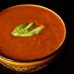 Roasted Tortilla Soup Recipe | cookingontheweekends.com