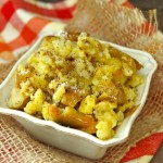 Rustic Garlic Confit Mashed Potatoes   cookiingontheweekends.com