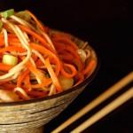 Ginger-Carrot Soba Noodles   COOKINGONTHEWEEKENDS.COM