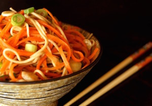 Ginger-Carrot Soba Noodles | COOKINGONTHEWEEKENDS.COM