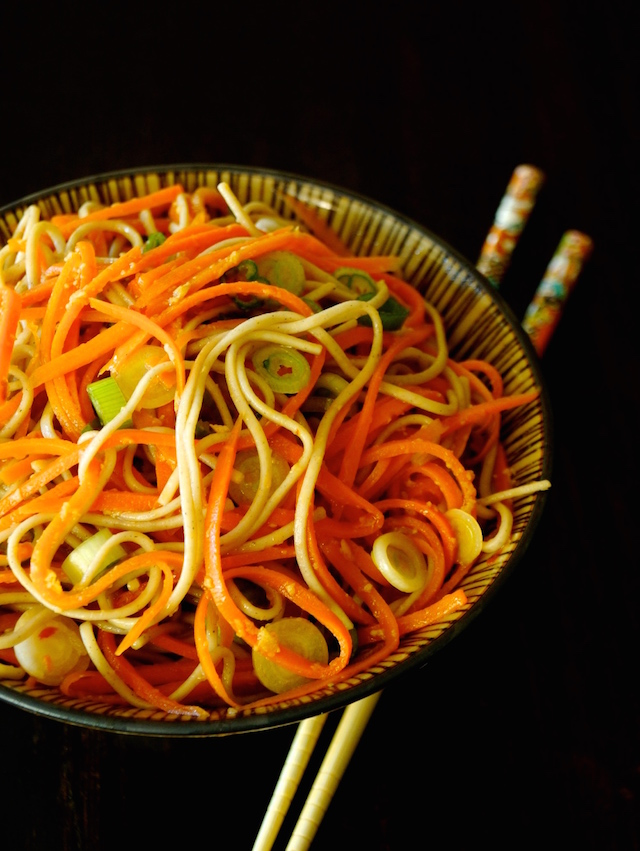 Ginger-Carrot Soba Noodles – weekend recipes