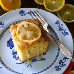 Meyer Lemon-Vanilla Hot Milk Cake Recipe