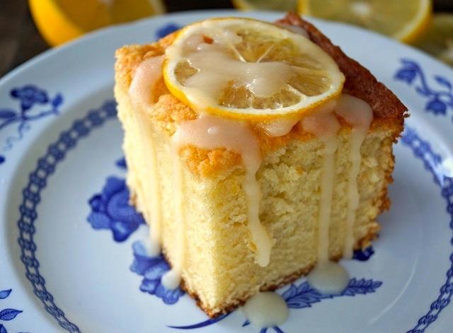 Vanilla-Lemon Hot Milk Cake Recipe   COOKINGONTHEWEEKENDS.COM