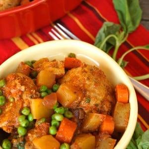 Stove-Top Spiced Turkey Meatball Stew Recipe