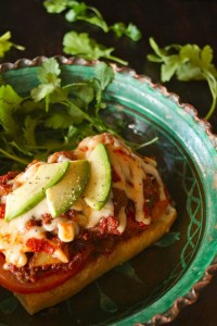 Cacique-Chorizo Stew Melt-Enchilado-cilantro-green | cookingontheweekends.com
