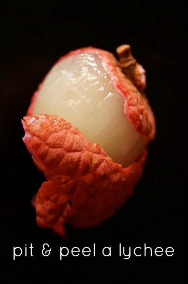 Pit and Peel Lychee