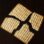 Matzo Brei a la florentine-white-black-broken cracker | cookingontheweekends.com