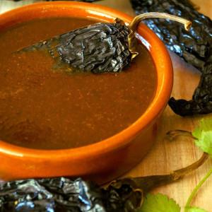 Cinco de Mayo Recipes: Smoky Poblano Enchilada Sauce and Pasta Para Duros