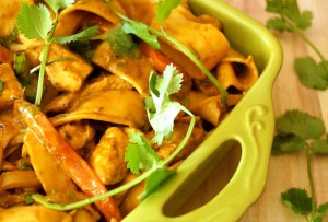 Cinco de Mayo Recipes: Chicken Poblano Pappardelle Pasta