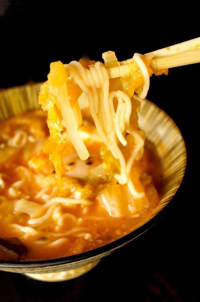 Kimchi Egg Ramen