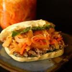 Kimchi Grillef Steak Sandwich