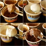 Introducing Choctál Ice Cream - choclate and vanilla | cookigontheweekends.com
