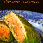 Savoy Cabbage Steamed Salmon Recipe