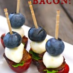 Cherry-Bacon Blueberry Kebabs