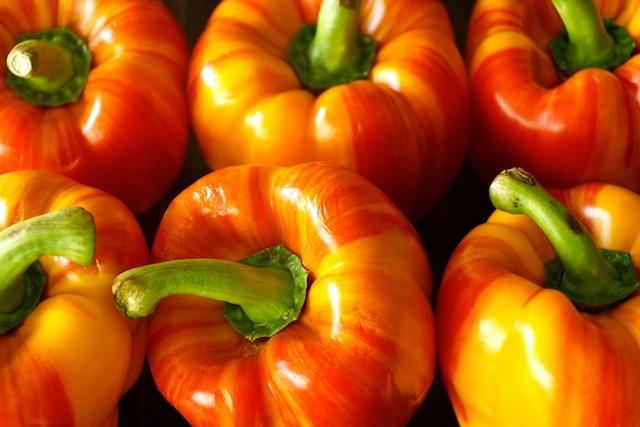 several Enjoya Peppers huddled together