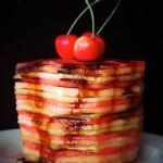 Balsamic Glazed Melon Cake Recipe