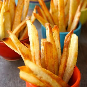 How to Make Perfect Crispy Oven-Roasted French Fries: A Photographic Guide