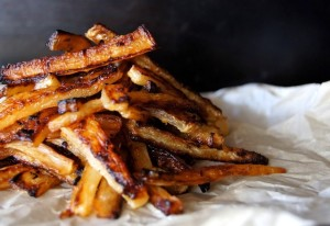 Spicy Roasted Daikon French Fries Recipe