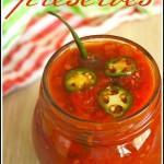 Spicy Serrano Tomato Preserves Recipe