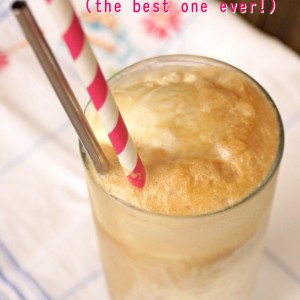 The Best Root Beer Float Recipe