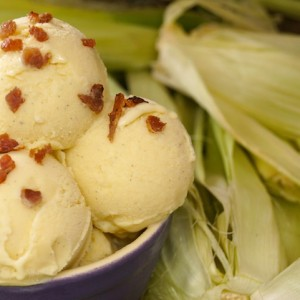 Grilled Corn Ice Cream Recipe