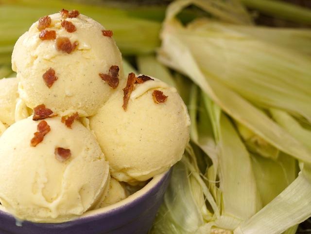 Grilled Corn Ice Cream Recipe