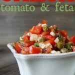Tomato Feta Salsa Recipe for Meat or Chicken