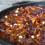 Chocolate Chipotle Smoky Bacon Brisket Chili Recipe