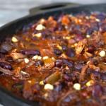 Chocolate Chipotle Smoky Bacon Brisket Chili Recipe
