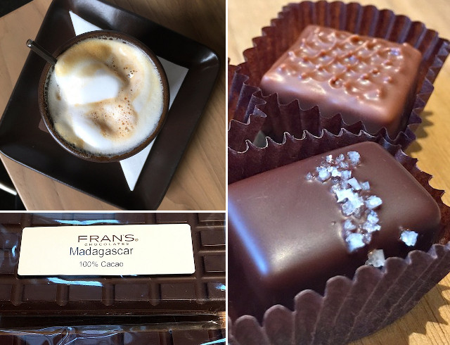 Eating in Seattle-Fran's Chocolate