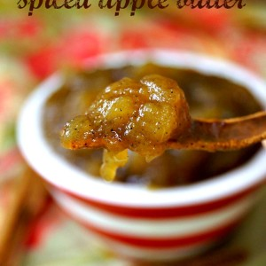 Cinnamon Cardamom Apple Butter Recipe