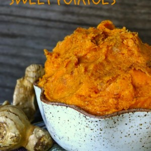 Quick and Easy Ginger Mashed Sweet Potatoes Recipe