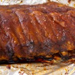 Smoky, Sweet & Spicy Pork Ribs -- Super succulent and tender, these pork ribs are made with a delicious spice rub that becomes a wonderful sauce as they slow roast to perfection.