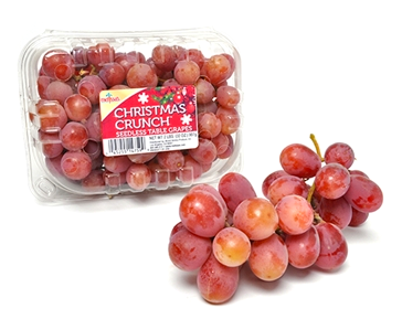 Christmas Crunch Grapes package from Melissa's Produce