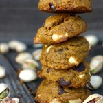 Gluten Free Pistachio Chocolate Chip-Cookies -- super interesting, incredibly delicious, inherently gluten-free and the perfect bite for the holiday season.