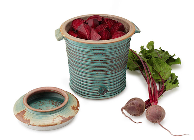 Gifts for the Cook Who You Think Has Everything - Stoneware Fermenting Crock