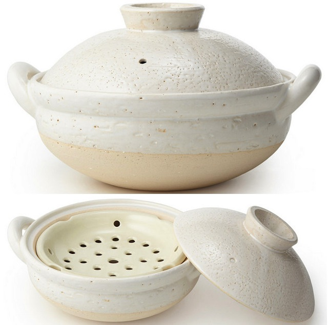 Gifts for the Cook Who You Think Has Everything - Earthenware Steamer