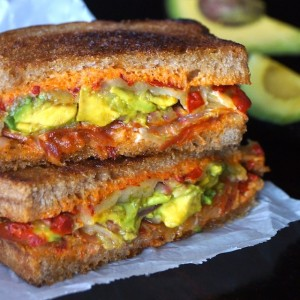 Best Avocado Grilled Cheese Sandwich Ever