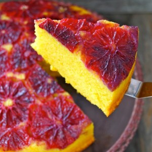 Blood Orange-Turmeric Upside Down Pound Cake Recipe