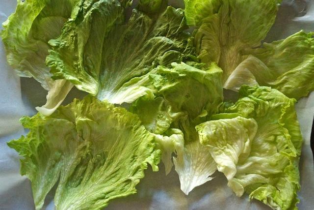 Spiced Pork and Mango Chimichurri Lettuce Wraps Recipe – weekend ...
