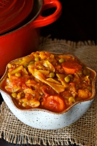 Vegan Tomato-Turmeric Cabbage Stew Recipe