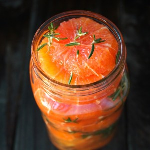 Rosemary-Honey Marinated Oranges Recipe