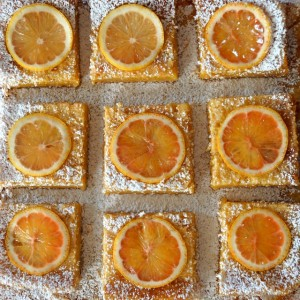 Gluten-Free Lemon Bars with Coconut Crust
