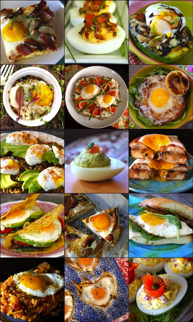 15 Gorgeous Egg Recipes for Spring Brunch