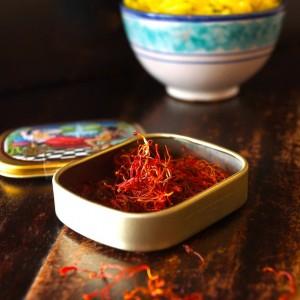 Saffron Basmati Rice Recipe with Fresh Dill