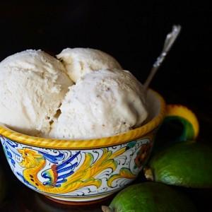 No-Churn Pineapple Guava Ice Cream Recipe