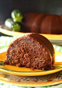 Gluten-Free Chocolate Zucchini Cake - This rich and delicious, Gluten-Free Chocolate Zucchini Cake, with a divine, soft texture, is so good that it doesn't even need a frosting or glaze. It's perfect as is!