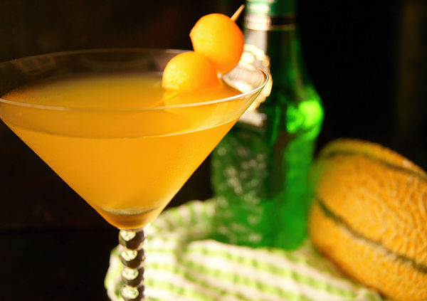 Summer Melon Recipes -- Golden Kiss Melontini